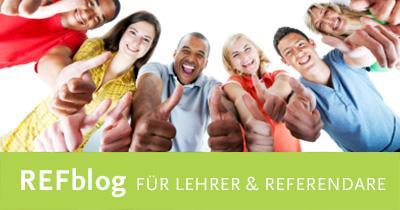 Versicherungen für Lehrer und Referendare - Banner für REFblog