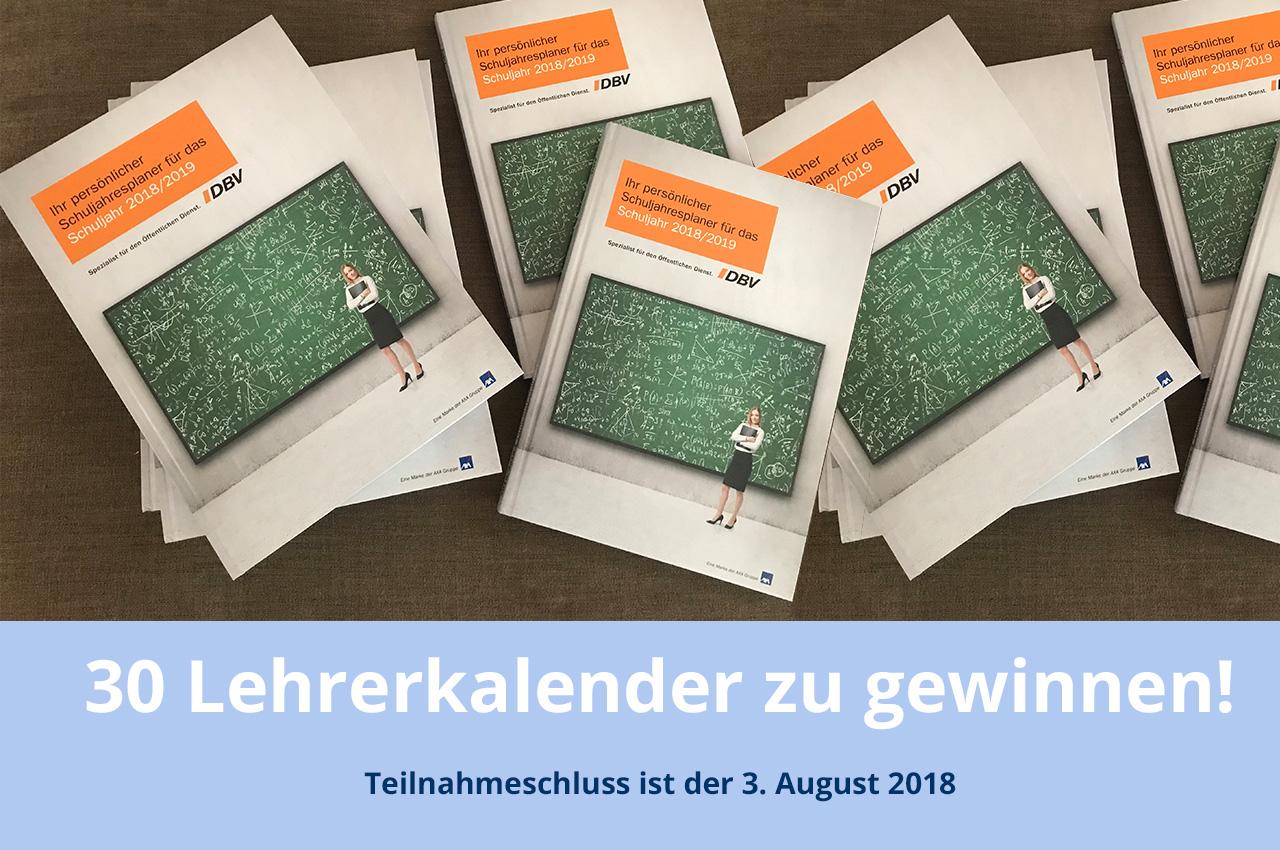 Jetzt Gewinnen: 30 Tolle Lehrerkalender Für Das Schuljahr 2018/2019
