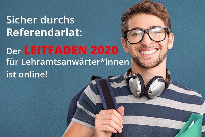 Jetzt NEU: Leitfaden Zum Lehramtsreferendariat 2020